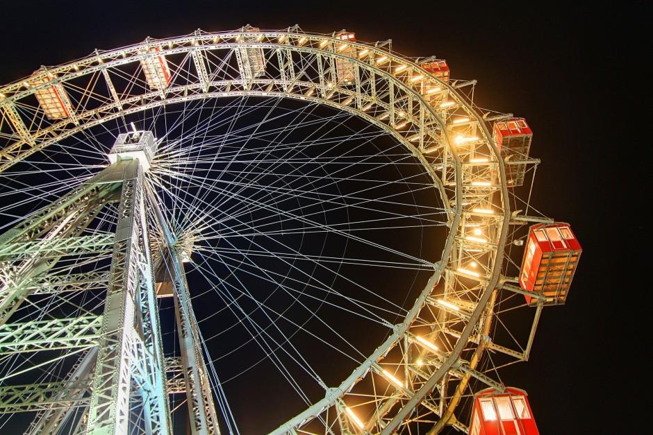 Vienna - The Wiener Riesenrad (c) Jaysmark via Flickr